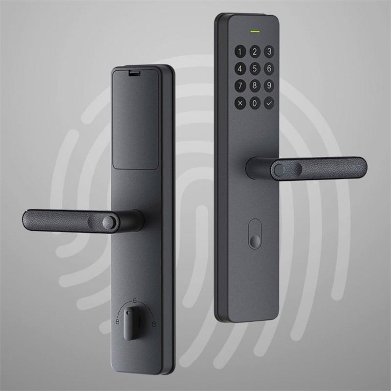 التعامل مع XIAOMI YOUPIN Xiaoda الإلكترونية الذكية قفل بصمة Intellgent الباب مع قفل بدون مفتاح الرقمية الذكية أقفال الأبواب لMijia APP