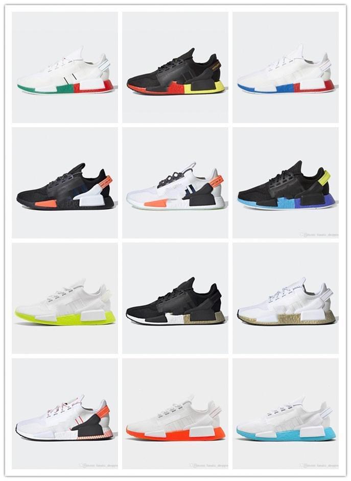 2020 Nmd R1 V2 Men Women Running Shoes Og Summer Running Shoes