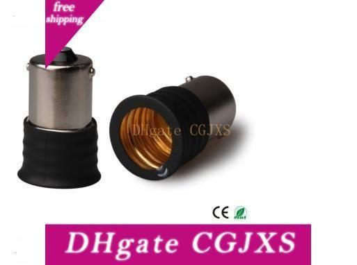 500pcs Ba15s Pour E17 lampe Convertisseurs Support pour Led Ampoule 15 * 32mm