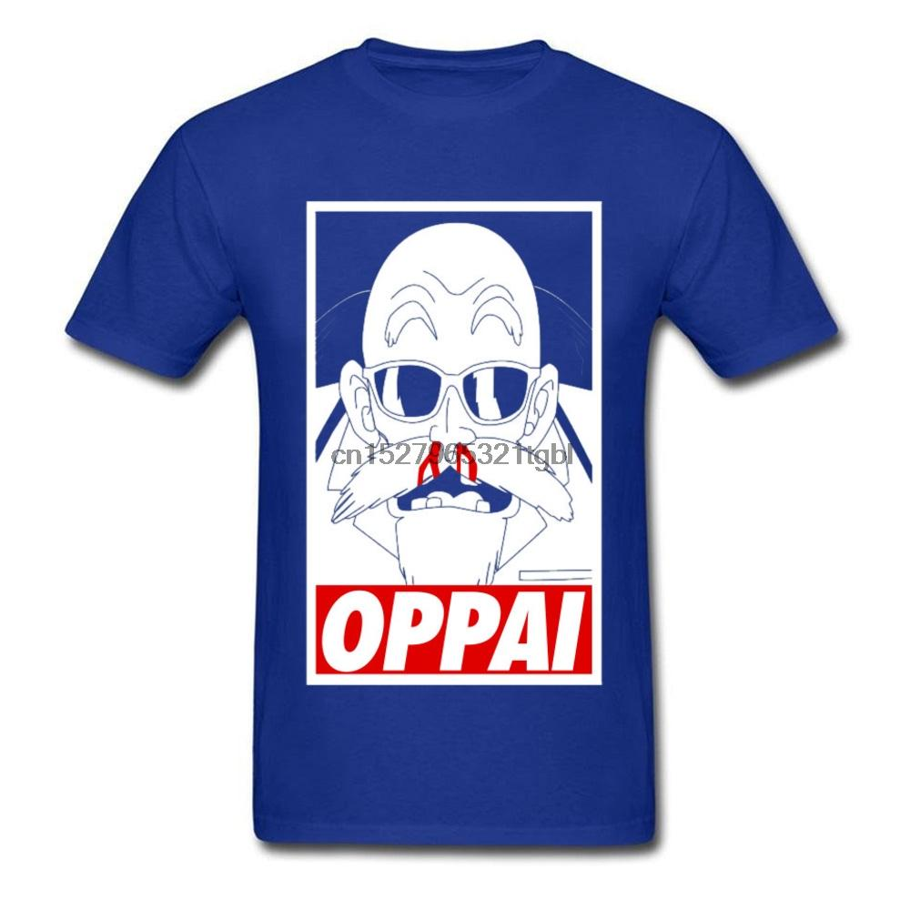 Tshirts Mens Tshirt Oppai 3D Printed T Shirt for Men Cotton Summer Tops Tees Custom T-Shirt Funny Hip Hop Blue Shirt