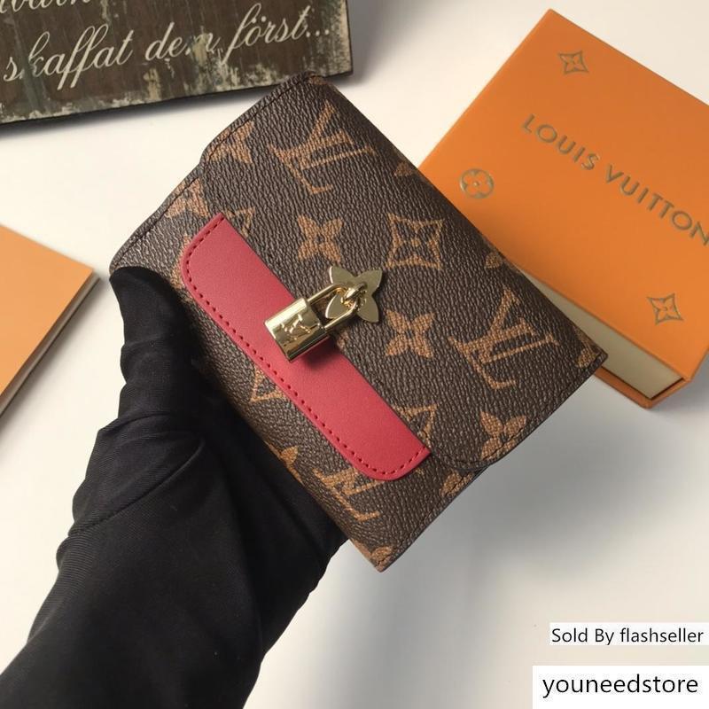 M62578 62578 Сумки сумки Классические Tote Сумка с женщинами сцепления кошельки женские Держатели цветок Композитный женский кошелек кошель Pocketbook 00