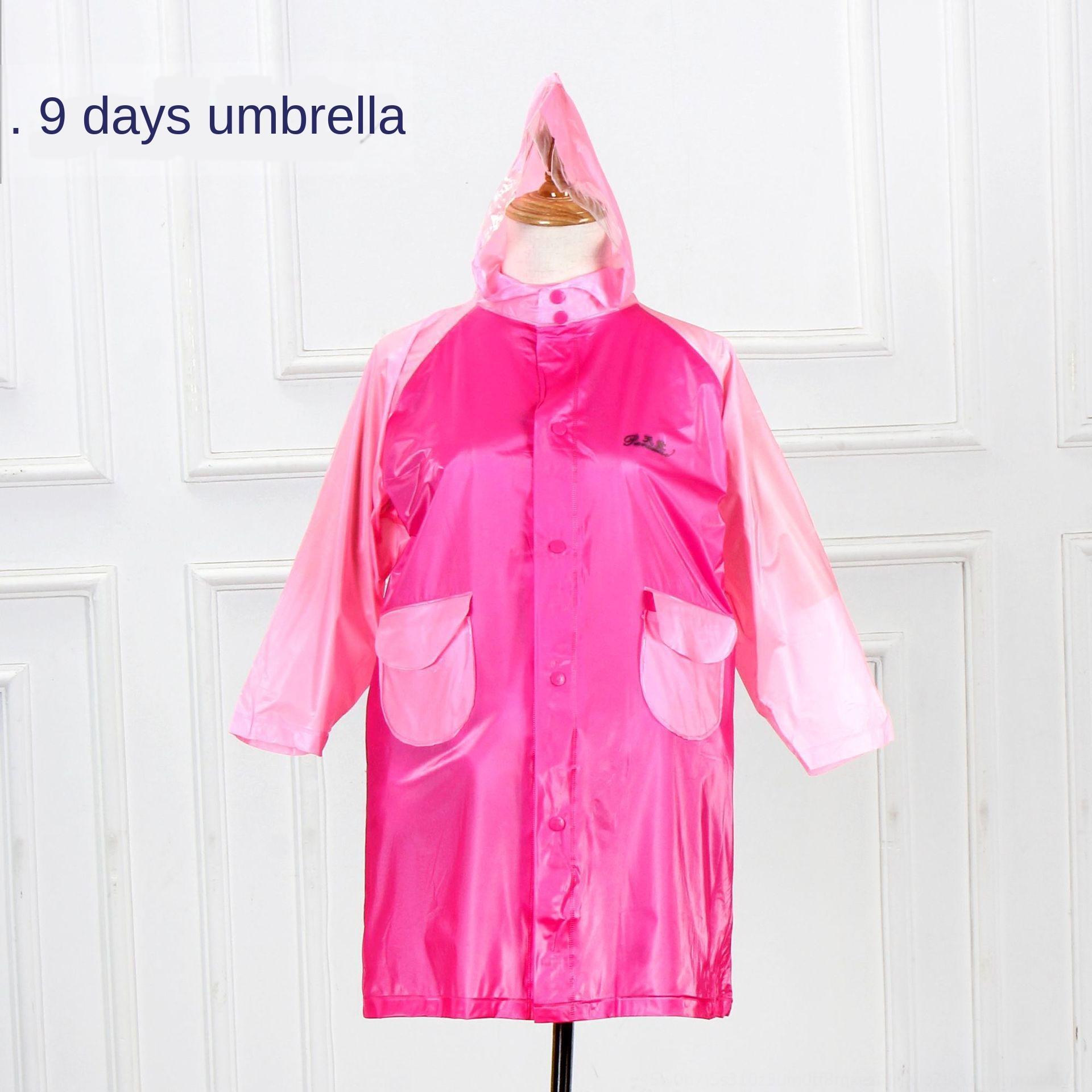 ISXkA Bm7jr Cennet çocuk öğrenci çift ekstra büyük yağmurluk Cennet çocuk Cloak öğrenci pelerin çift kalınlaşmış ext panço kalınlaşmış
