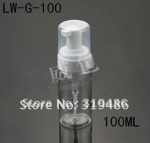 300pcs / lot 100ml botella, botella de embalaje, botellas de espumoso LW-G-100