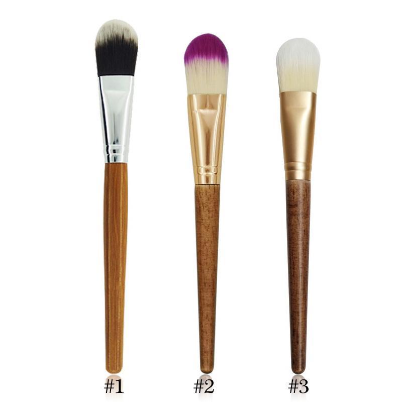 Маска для лица кисти Женщина Cosmetic Инструмент для макияжа Щетка учредительства волокна волос Bamboo ручки Powder Concealer маска для лица Кисти Set