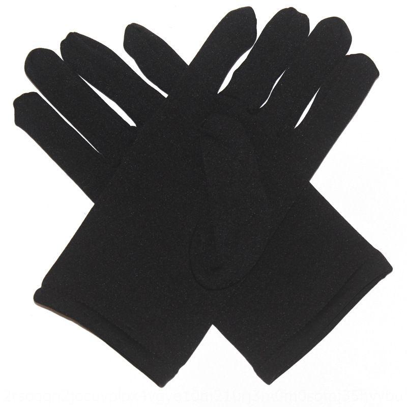 New women's cute milk silk brushed universal for men and Milk silk Gloves and gloves women