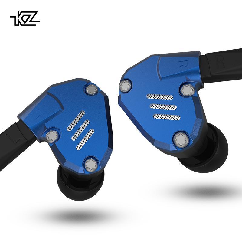 KZ ZS7 écouteurs 4BA + 1dd Hybrid In Ear écouteurs Hifi basse casque Dj Moniteur écouteurs écouteurs Kz AS10 ZS10 Zst Cca C10 Trn V80 T6190617