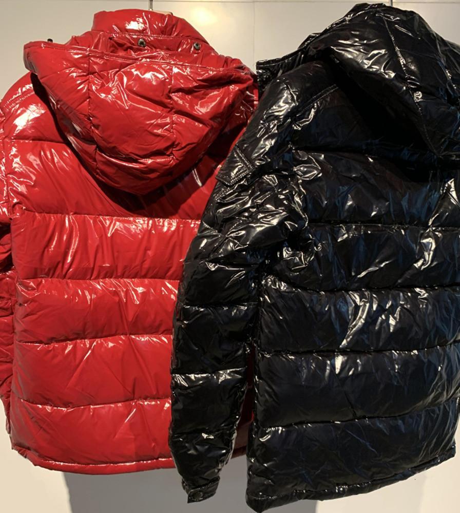 Erkek ceket Aşağı Winter ceketleri Coats En Kaliteli Bay Bayan Kış Casual Açık Sıcak Tüy Dış Giyim Keep sıcak Kalınlaşmak yüksek dereceli 1K09