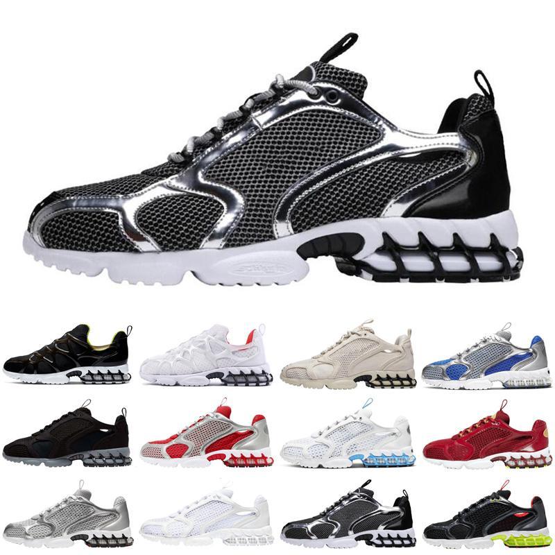 top Kukini de Spiridon mis en cage 2 hommes fossiles femmes chaussures de course triple formateurs hommes de cactus lumineux blanc coureurs de sport taille 36-45