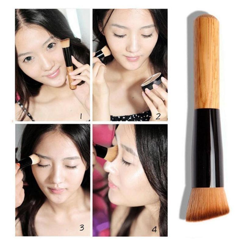 Schräg Make-up Pinsel Foundation Verstreute Powder Blush Lidschatten Pinsel Makeup Tools perfektes Geschenk Zubehör