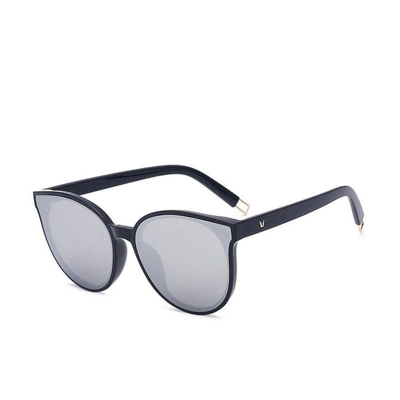UV400 óculos de sol redondos retro homens mulheres marca designe vidros de sol revestimento do vintage espelhado 2020 novo de alta qualidade