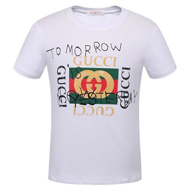 G дизайнер короткие рукава Роскошные футболки для мужчин и женщин GUCCI лето смешно хип-хоп рубашка GUCCI дышащая Tee 5XL