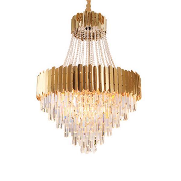 2020 nuovo lusso moderno lampadario di cristallo di vendita guidato soggiorno ceilling ciondolo luce camera da letto luce ristorante luce lampada a sospensione led