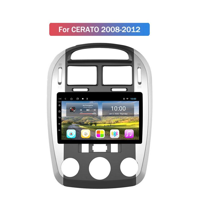 Die niedrigste Preis Android Auto-Spieler Autoradio 10-Zoll-Car Navigation Radios für Kia Cerato 2008 2009 2010 2011 2012