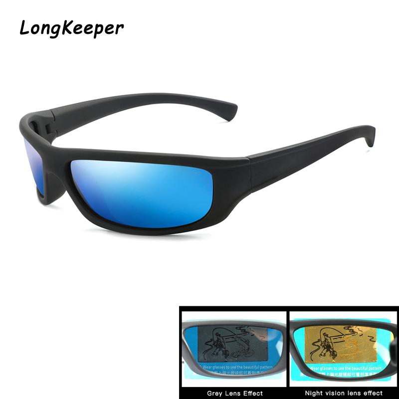 Men Sunglass Polarized Sunglasses For Women Square Glasses Polarized Nigjt Vision Sun glasses Driving UV400 Goggle Oculos de sol
