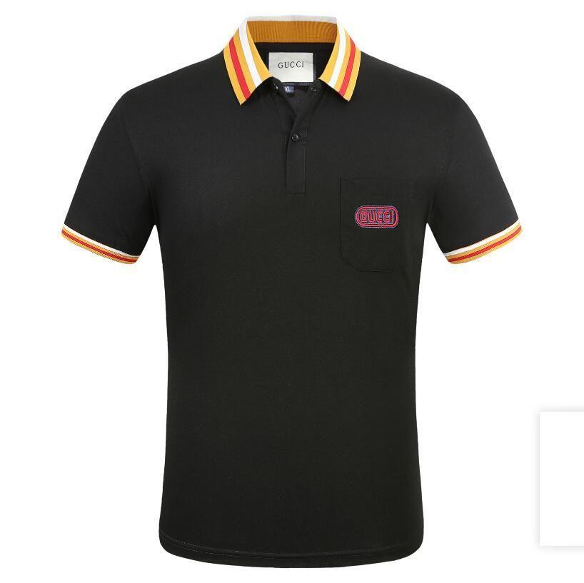 Lüks Erkek Tasarımcılar Tişörtlü Erkek Giyim Yaz Tişörtlü Hip Hop Erkekler Kısa Kollu Boyut M-3XL