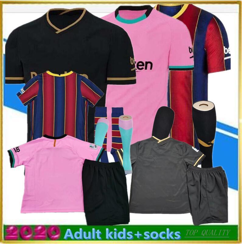 Erwachsene Kit Sock 2019 2020 Fussball Jersey 19 2020 Fußball Hemd Camiseta de Fútbol Maillot de Foot Uniform Langarm
