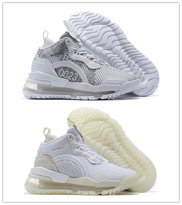Erkekler Kadınlar Tasarım Klasik Açık Ayakkabı Erkek Eğitmenler S İçin Çoğunlukla Beyaz Uzay 720 Basketbol Ayakkabı içinde serbest bırakılması 2020 Yeni Uzay 720