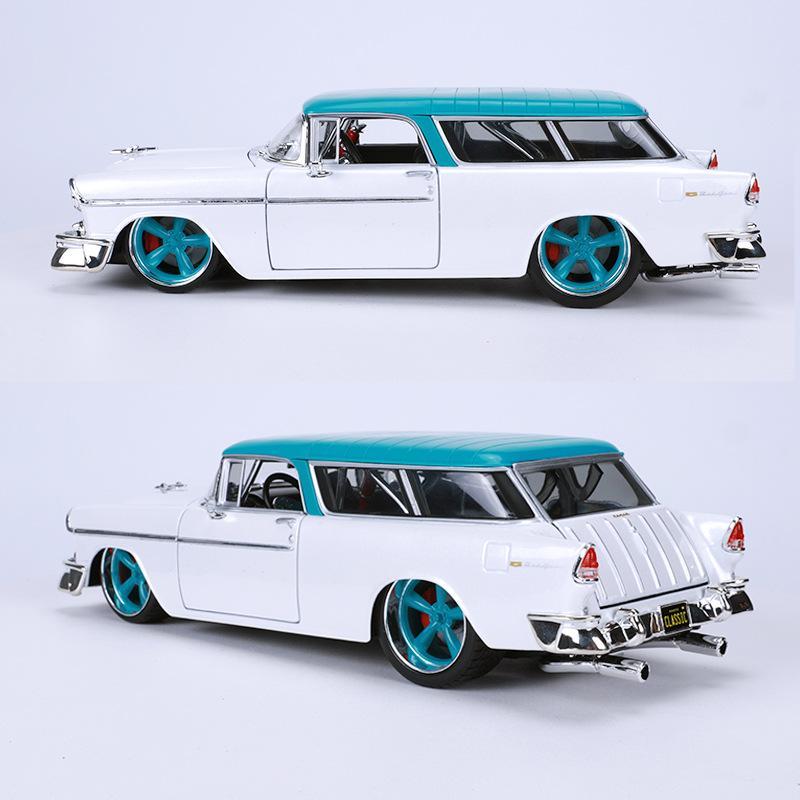 Maisto 01.18 1955 Chevrolet Auto-Modell-Simulation Legierung Auto-Modell Oldtimern modifizierte Rangers