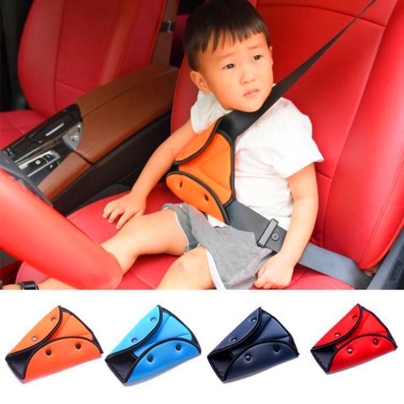 Уход для детей Универсальный ремень безопасности Автомобильный держатель для детей Дети -автомобиль крышки места Protect младенца Настройщик автомобильные аксессуары интерьера