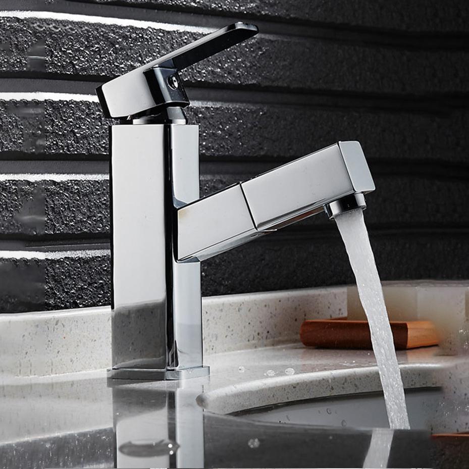 Robinet de bassin Dépôt ménage au-dessus du comptoir lavabo lavabo lavabo chaud et froid robinet d'eau chaude et froide