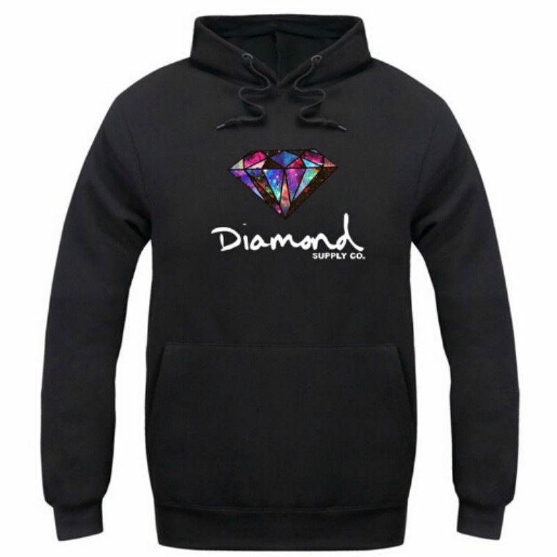 Diamond supply co men hoodie women street fleece warm sweatshirt winter autumn fashion hip hop primitive pullover
