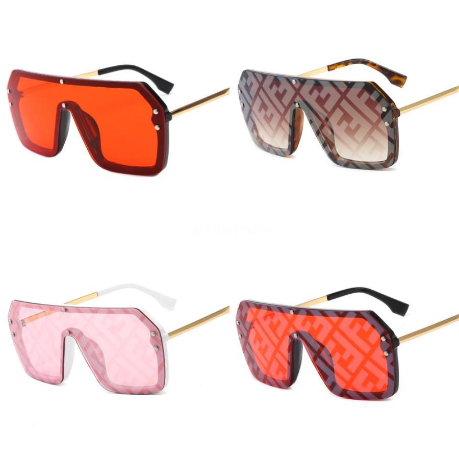 ZXWLYXGX 2020 New Fashion Guy'S Lunettes de soleil Polarized Double F Lunettes de soleil Hommes Classique Miroir carré Dames De Sol # Gafas 175