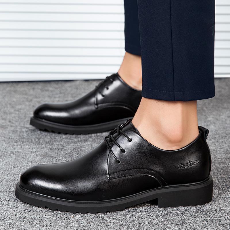 Geschäfts Oxford Vintage-Schuhe der Männer beiläufige lederne Schuhe Herren Formelle Bureau Freizeit Schuhe Marke Brautkleid Elegantes