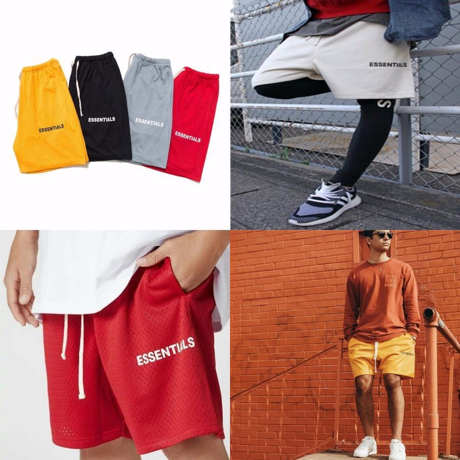 2020 Nouveau imperméable et tissu Pantalon d'été Champ Chemin de plage Pantalons Plate Essentials Mens Shorts Essentials Mens'S Surf Sh # 533