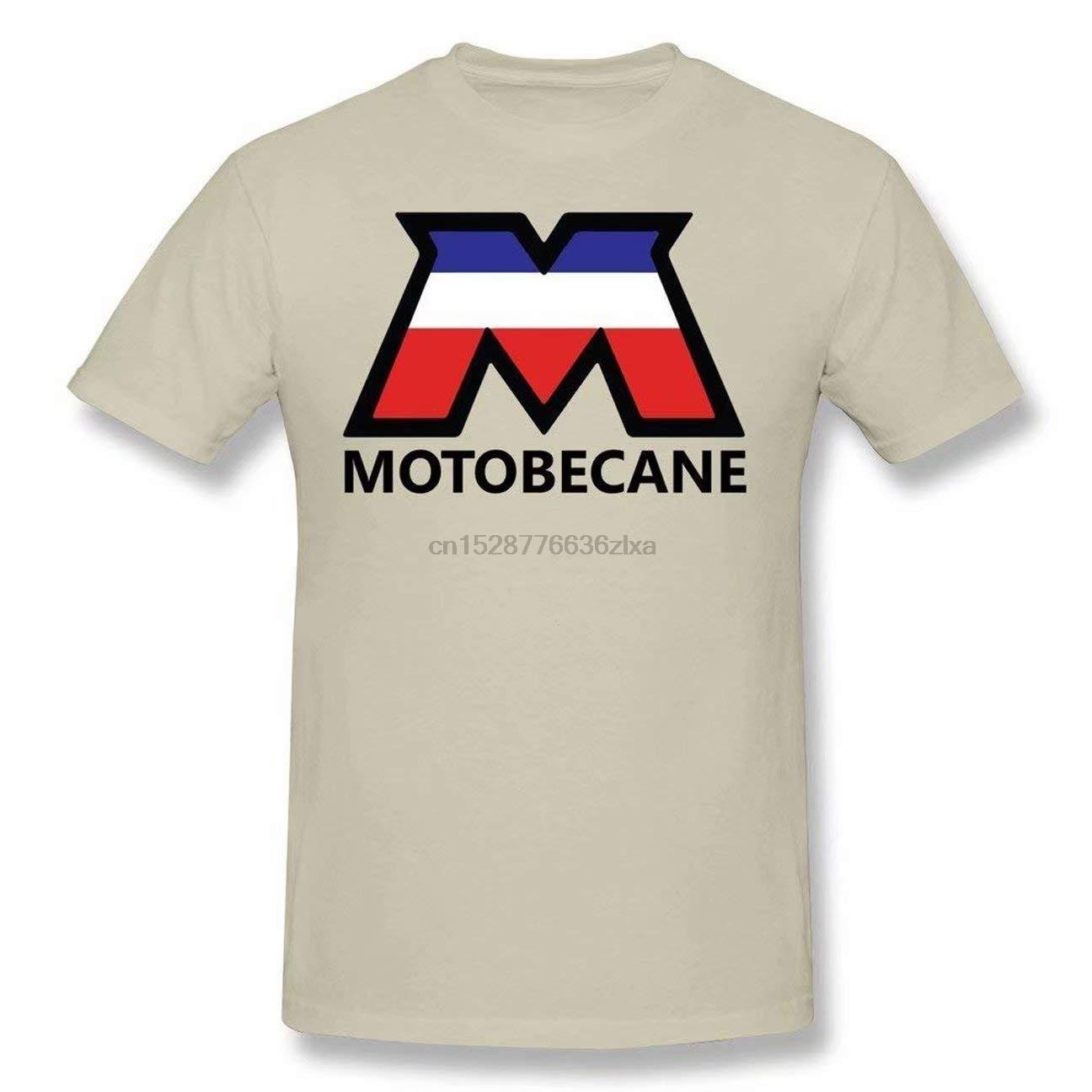 Hombres Motobecane Genérico camiseta del logotipo de algodón