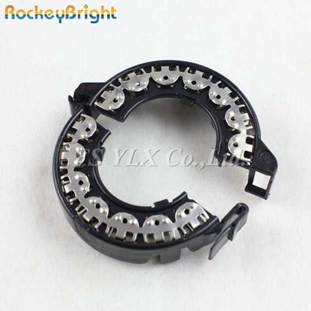 Bae Rockeybright 2pc 1s 2s ксенона адаптер металлический держатель черный HID лампы 1 2 переходника держателя базовой освобождает перевозку груза