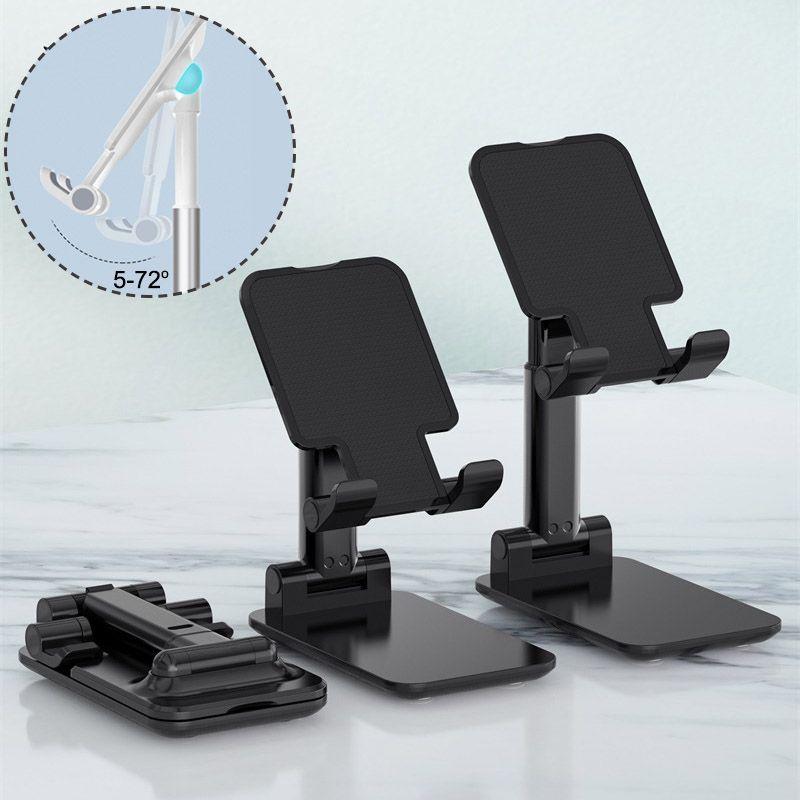 Porta cellulare T1 iPad Tablet basamento della radiocronaca Desktop staffa metallica telescopica estendere il sostegno Altezza regolabile ruotabile Angle