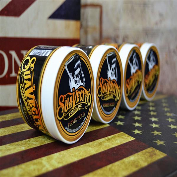Hot! Suavecito Pommade Hair Style Forte Restauration Pommade Wax Big Skeleton Cheveux gominés huile cire boue Keep Pommade hommes