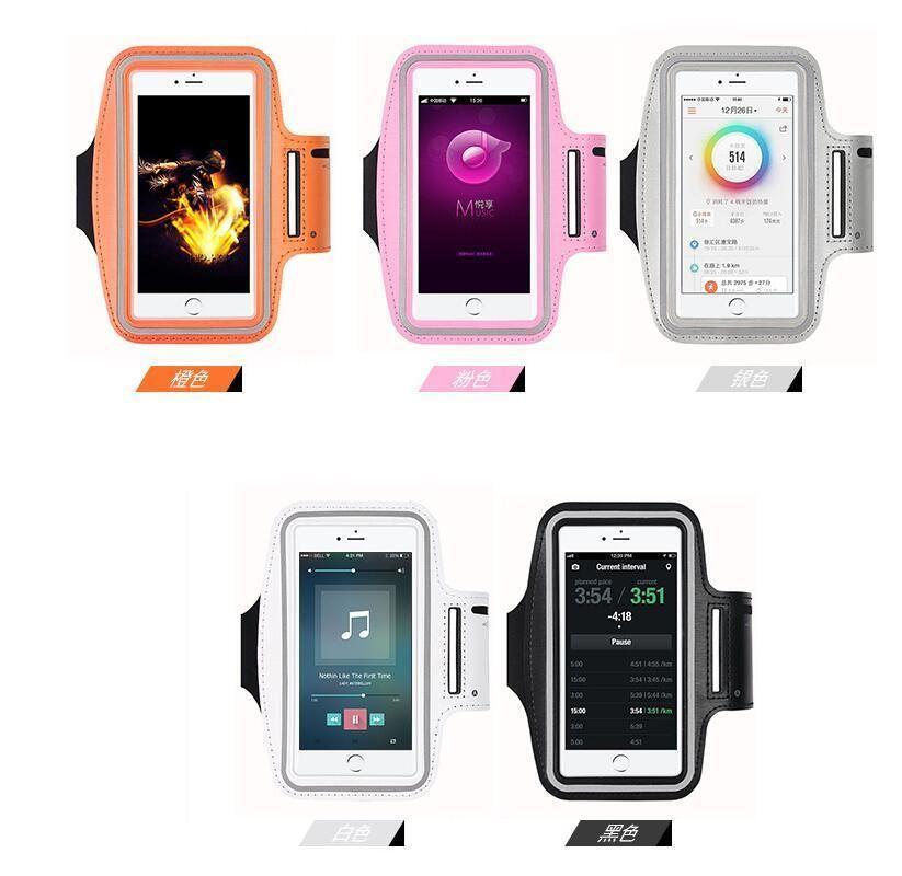 Cassa del bracciale all'ingrosso sacchetto di nylon Correre Palestra Sport copertura impermeabile per iPhone 6 Plus di Samsung Galaxy S4 S5 S3 fascia di braccio bag zlhome vIHYb