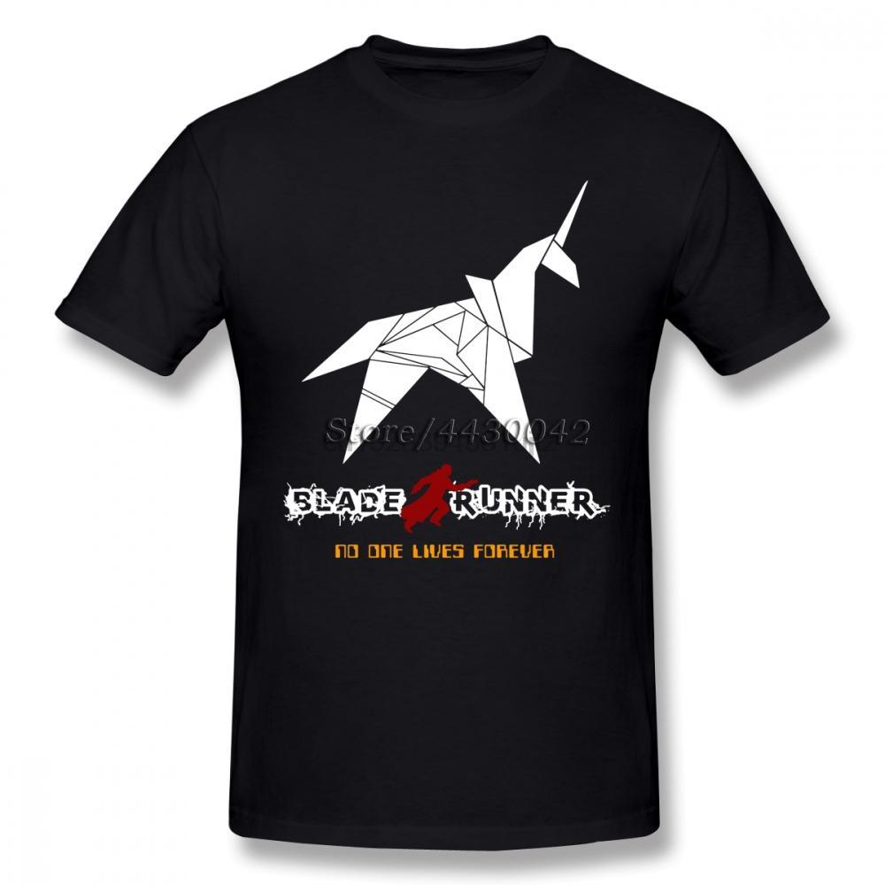 Blade Runner Movie T-shirt da uomo in cotone personalizzato Dropshipping estate più il formato Short Sleeve Tee squadra 4XL 5XL 6XL