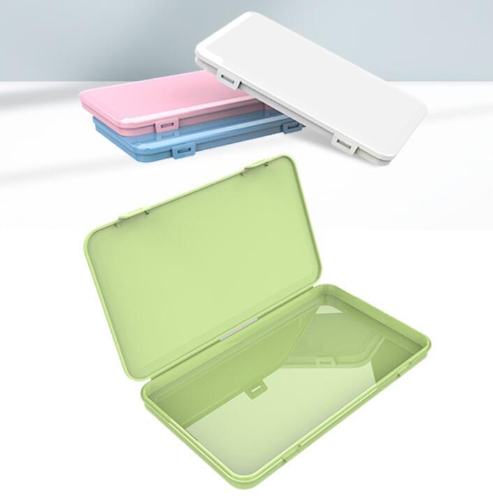 방진 마스크 케이스 휴대용 일회용 페이스 마스크 컨테이너 안전 오염없는 일회용 마스크 보관함 저장 상자 보관함 GGA3569-3