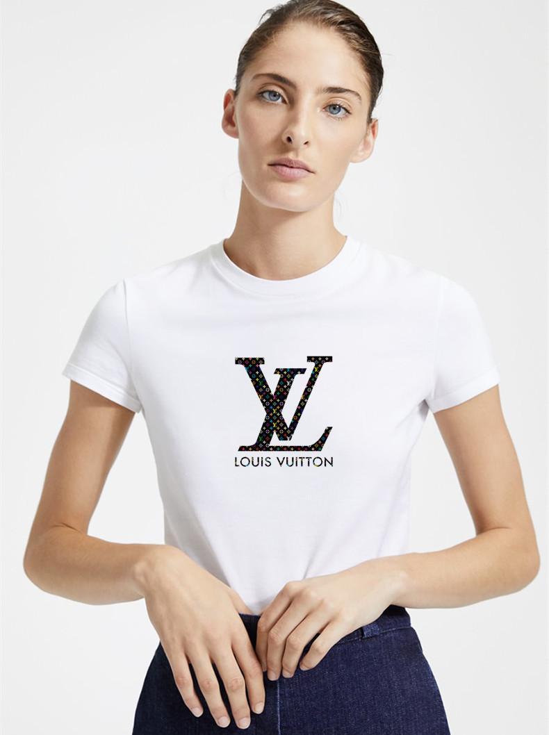 2019 Женских мода Дизайнер бренда T рубашка женщины Printed Короткие SleeveTee для Tshirts Повседневного Summer МУЖСКОГО ЖЕНСКОГО