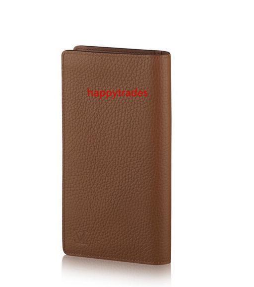 Brazza Wallet M58860 Männer Gürteltasche Exotische Leder Taschen Iconic Taschen Clutches Portfolio-Mappen-Geldbeutel