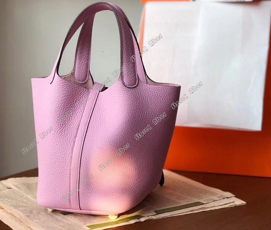 Hombro Las bolsas de las mujeres de las mujeres El gran diseñador de la moda de los bolsos de cuero de la moda de las compras de la moda de la moda aber nuevo bolso simple bolso genuino MTBK