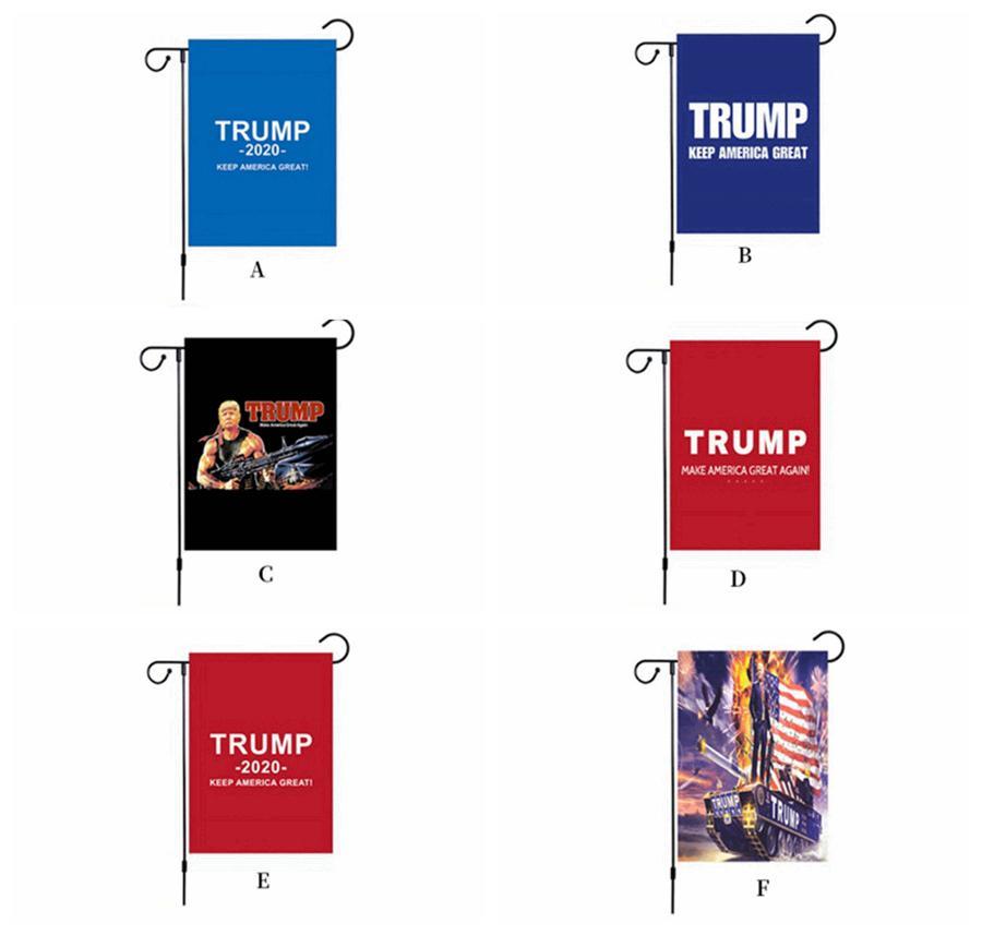 30 * 45CM رئيس الولايات المتحدة الأمريكية الرئيس العلم الانتخابات دونالد ترامب 2020 الاحتفاظ أمريكا العظمى دعم الانتخابات راية أمريكا حديقة أعلام RRA3337