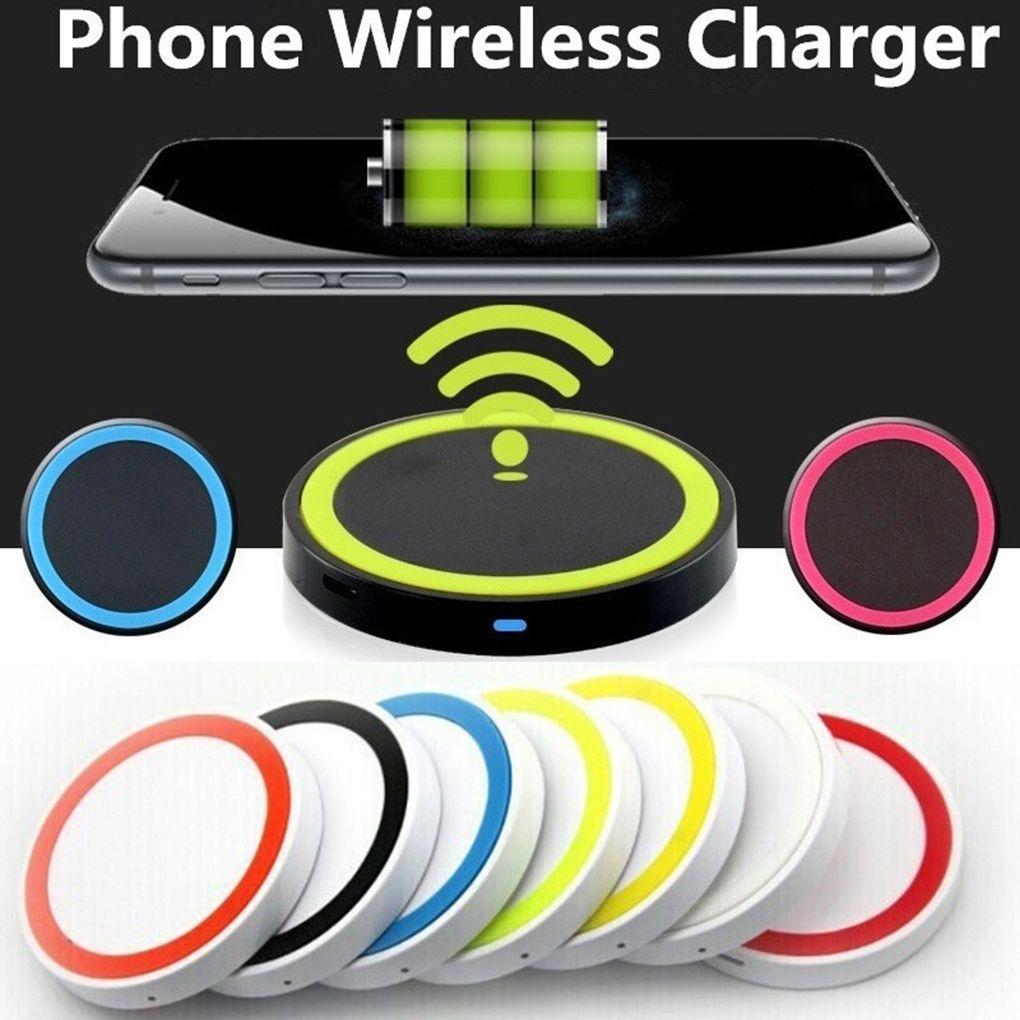 어댑터를 충전 9mm 두께 LED 표시 등 미니 무선 USB 빠른 충전기 미끄럼 방지 실리콘베이스 패드 무선