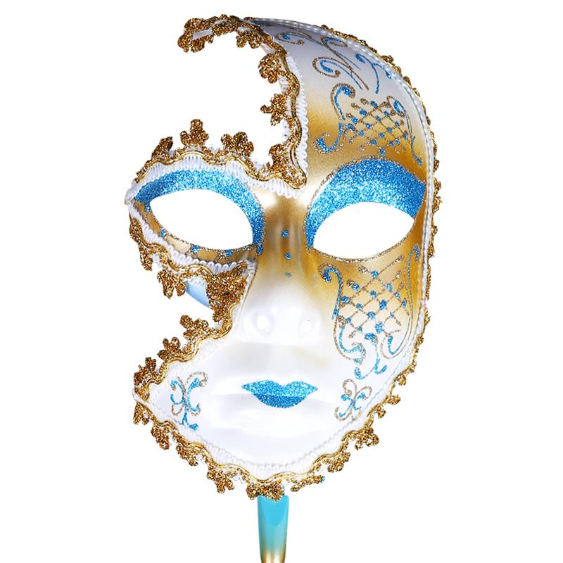 Men and Women Halloween Mask Half Face Mask Venice Carnival Party Supplies Masquerade Party Decorations Cosplay Props