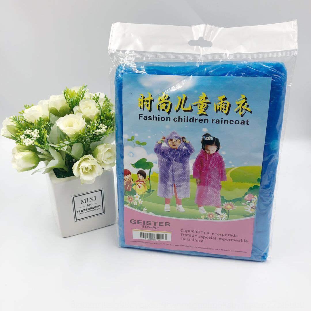 impermeable espesado nuevos lluvia de ropa ropa de la lluvia no desechables de material de los niños de los niños cool cool impermeable disponible