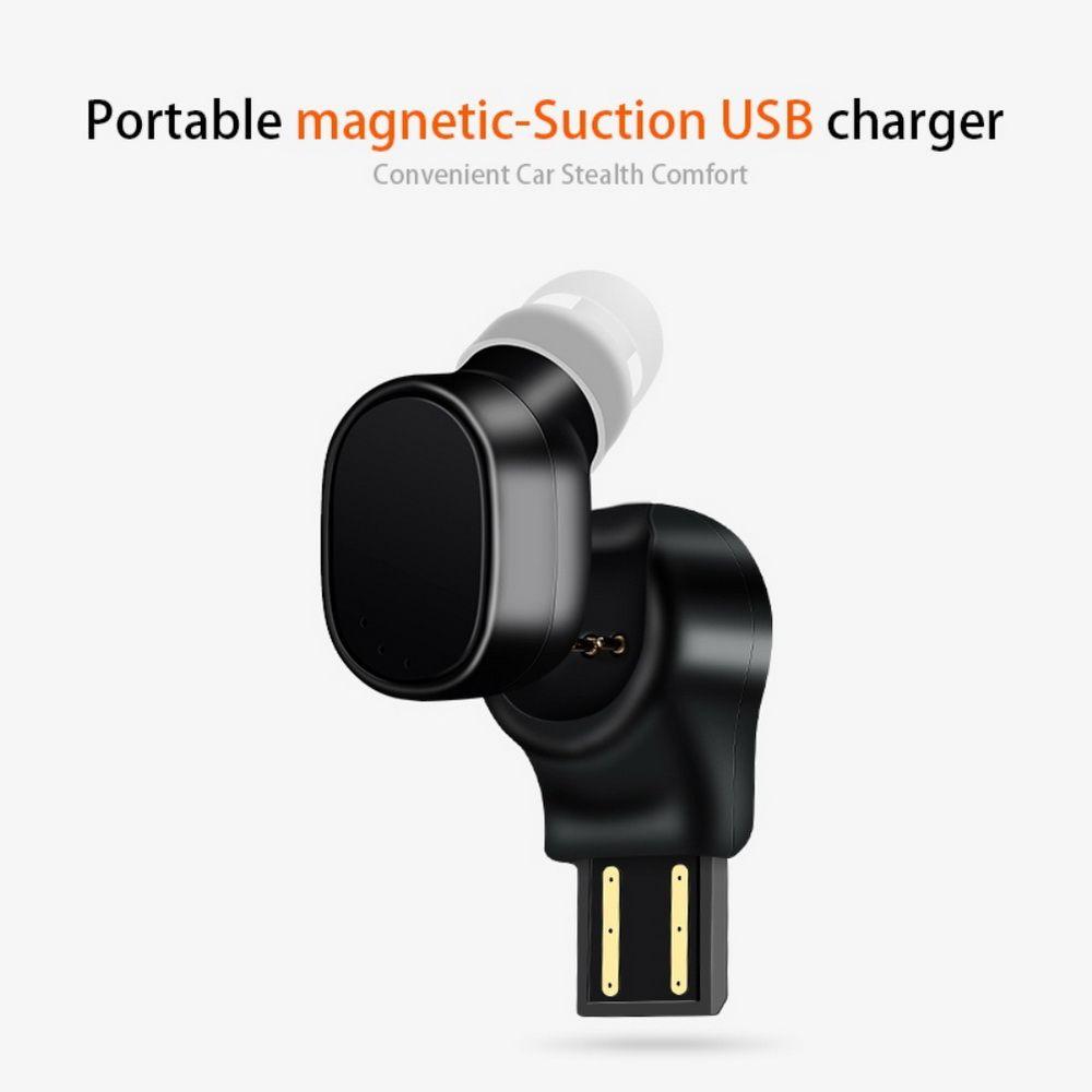 kebidu sem fio Mini fone de ouvido Bluetooth esporte Headset Bluetooth 4.1 Headset X12 carro Fone de ouvido Bluetooth O carregamento Magnetic USB