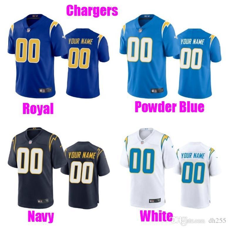 Fãs costume das mulheres dos homens da Juventude do futebol americano Jerseys Sports O nome personalizado Número personalizado futebol 2020 camisa branca 4xl 5XL 6XL