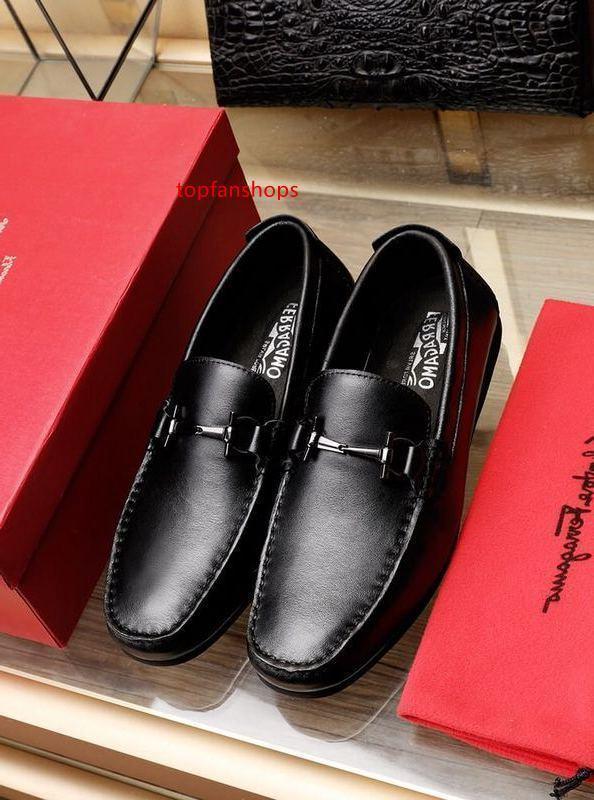 2019 zapatos casuales de cuero 2022 de los hombres zapatos de vestir Mocasines Mocasines Acordonadas Monk Correas Botas de cuero real de controladores