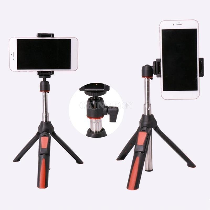 100Pcs / Lot BENRO Handministativ 3 in 1 Selbstporträt Einbeinstativ Telefon Selfie Stock-Bluetooth-Fernauslöser für IPhone