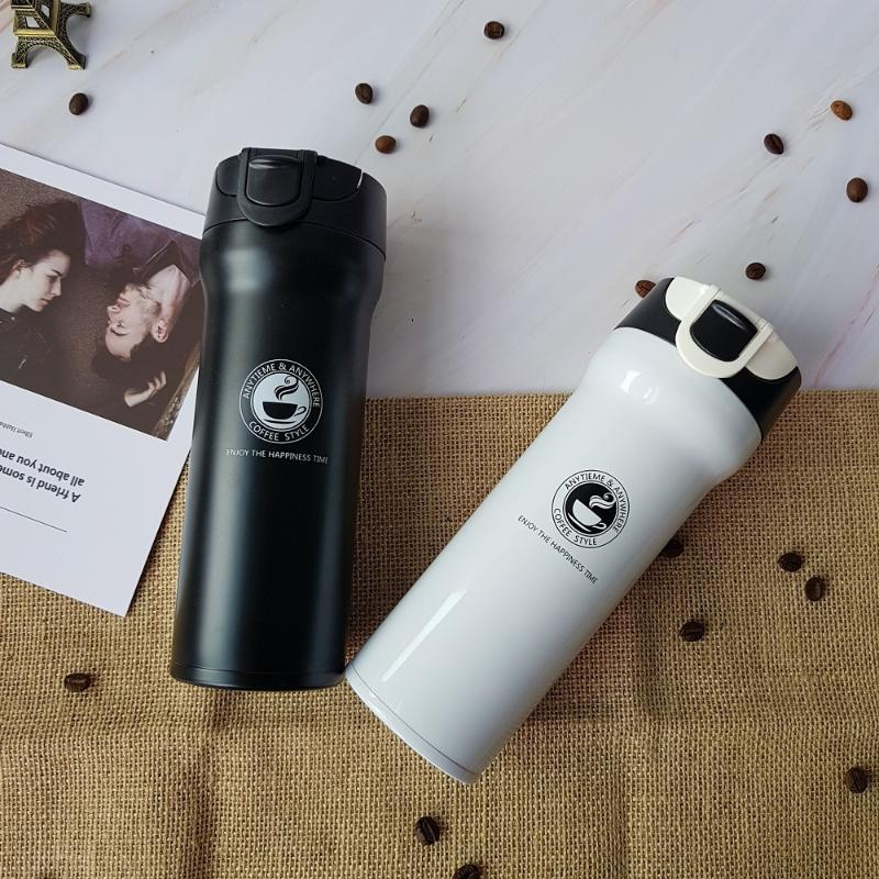 Hot Quality Double Wall Stainless Steel Vacuum Flasks 500ml 350ml Car Thermo Cup Coffee Travel Mug Thermol Bottle Thermocup