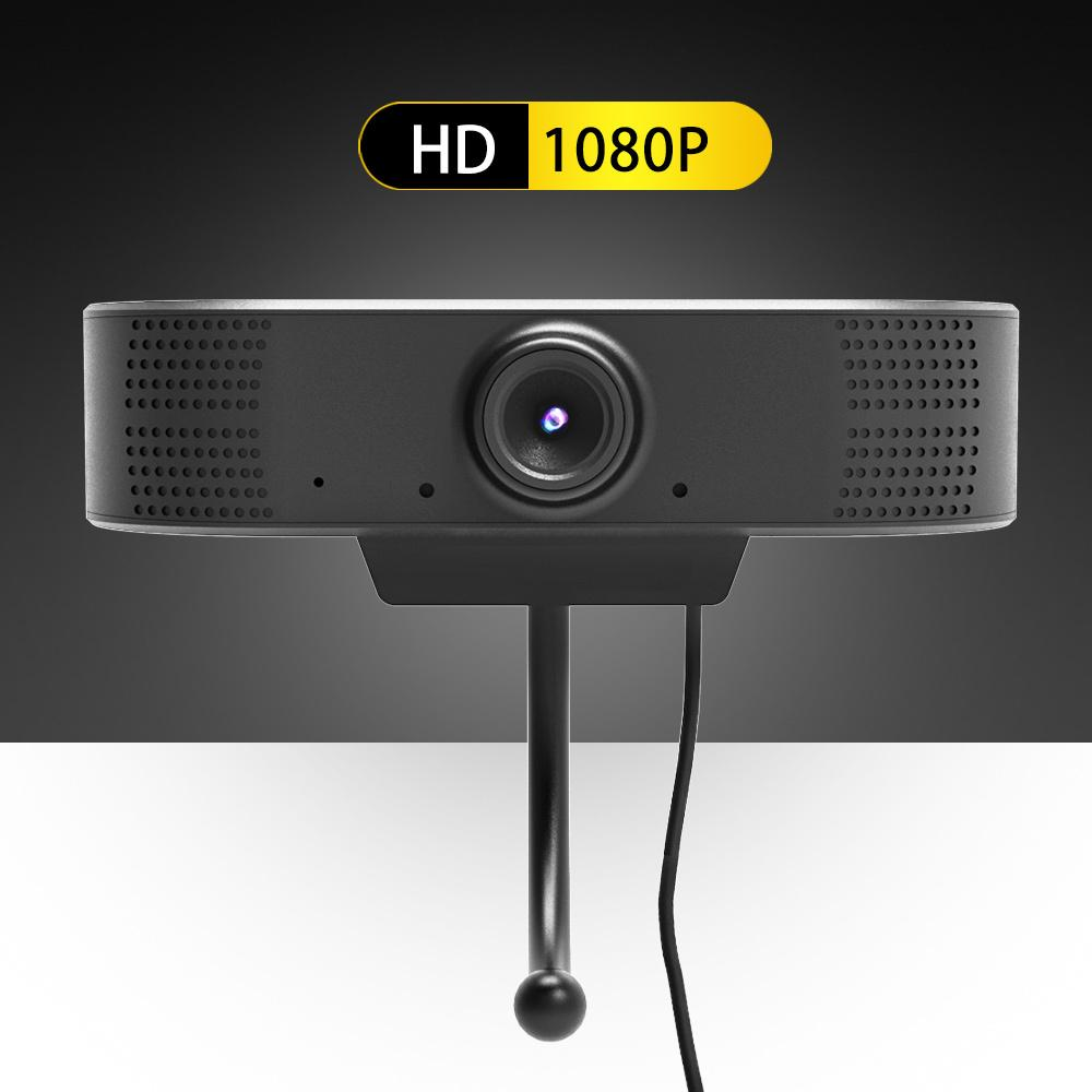 HD 1080P Web Camera USB Webcam Video Call Meeting HD Webcam with Mic for Computer PC Laptop for Video Conferencing Net 1920x1080 T200615