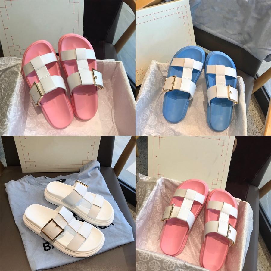 Новые женские сандалии В 2020 Wear Модных плоское дно Тапочек летом, бабочки весной и летом с плоской обувью # 286