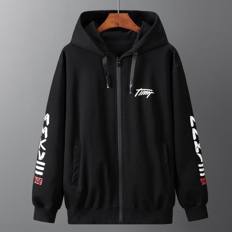 extra grande terno dos homens de esportes tamanho F9e1O Outono e Inverno Plus Plus tamanho grande de gordura solta homem calças hoodie das calças definir o hoodie de 2 peças